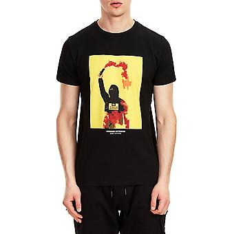 Weekend Offender Flare Printed T-Shirt Black 07