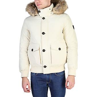 Tommy Hilfiger Original Men Fall/Winter Jacket - White Color 38906