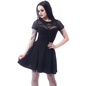 Harteloos Hex woensdag gotische jurk
