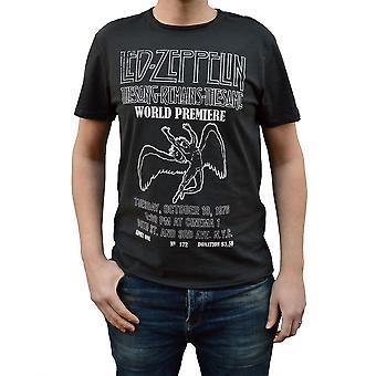 Ενισχυμένο LED Zeppelin το τραγούδι παραμένει T-shirt λαιμό του πληρώματος