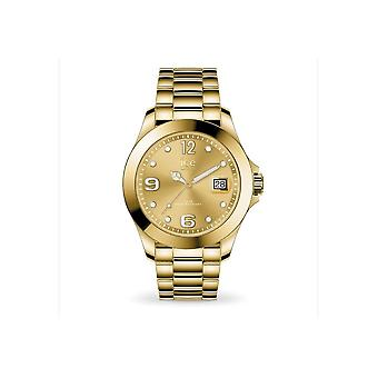 Ice Watch Watch Unisex ICE stål Classic Guld full glänsande Medium 016777