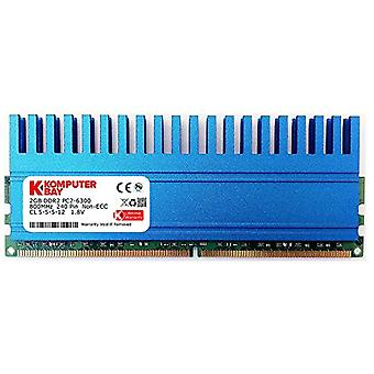 Komputerbay 2GB 240 Pin 800MHz PC2-6400/PC2-6300 DDR2 DIMM with Crown Series Heatspreader