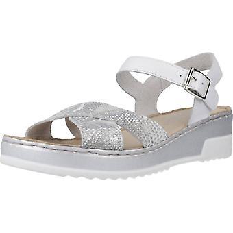 Pitillos Sandals 93846 Silver Color
