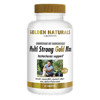 Golden Naturals Multi Strong Gold Man (60 vegetarian tablets)