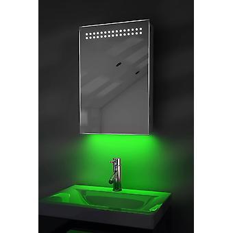 omgivelsesbad skap med sensor, Bluetooth audio k255aud