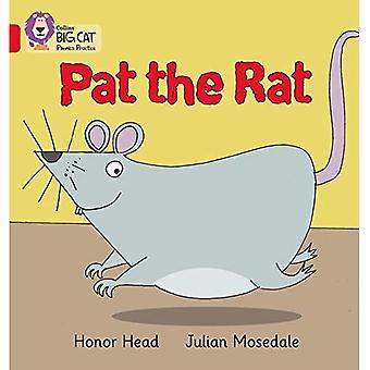 Collins Big Cat Phonics - PAT ratto: Band 02A/rosso A
