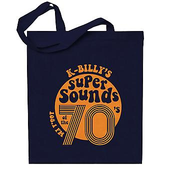 Reservoir Dogs K Billys Super Sounds Of The 70s Totebag
