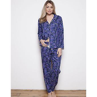 Cyberjammies 3567 Sadie blå blomster Pyjama toppen