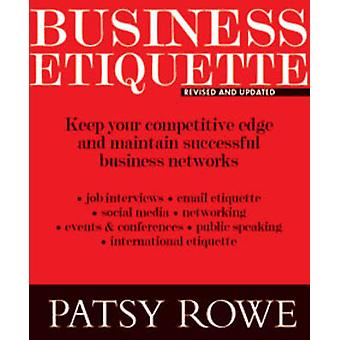 Business Etiquette by Patsy Rowe - 9781921024368 Book