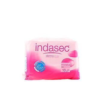Indasec Dermoseda Compresa Incontinencia Micro Plus 16 Uds For Women
