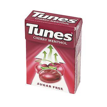 Tunes Sweets Sugar Free 37g Cherry Menthol