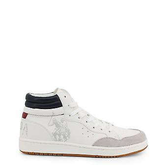 Man leather sneakers shoes ua02615