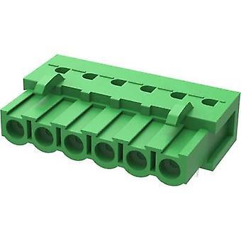 Degson Pin enclosure - PCB 2EDGA Total number of pins 6 Contact spacing: 5.08 mm 2EDGA-5.08-06P-14-00AH-1 1 pc(s)