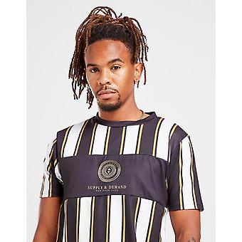 New Supply & Demand Men's Harriot T-Shirt Black