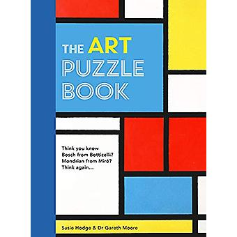 The Art Puzzle Book by Gareth Moore - 9780711248168 Book