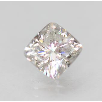 Certified 1.00 Carat G VS2 Cushion Enhanced Natural Loose Diamond 5.92x5.67m 2VG