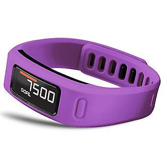 Correia de pulseira de pulseira de substituição para Garmin Vivofit[Pequeno, Roxo] COMPRE 2 GET 1 FORNECEDOR GRÁTIS 18