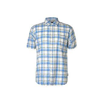 Pierre Cardin Check Linnen Shirt Mens