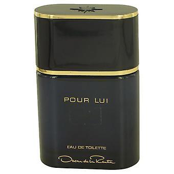 Oscar Pour Lui Eau De Toilette Spray (Tester) von Oscar De La Renta 3 oz Eau De Toilette Spray