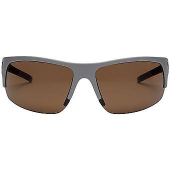Electric California Tech One Pro Sunglasses - Matte Grey/Bronze Pro