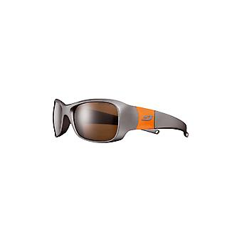 Julbo Piccolo (8-12 ans) Titane/Orange Spectron 4 Marron
