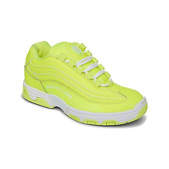 DC Legacy Lite Trainers in Bright Yellow