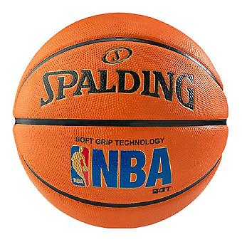 Spalding NBA Logoman Rubber Outdoor Court Basket Tan
