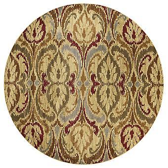 "23"" X 35,quot; זהב פוליפרופילן שטיח"