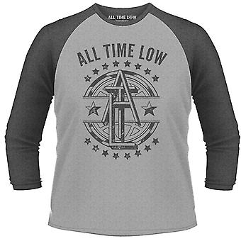 All Time Low Emblem Longsleeve Official Tee T-Shirt Unissex