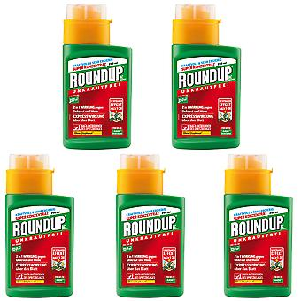Sparset: 5 x ROUNDUP® AC concentrate, 250 ml