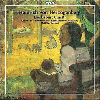 H. Von Herzogenberg - Heinrich Von Herzogenberg: Die Geburt Christi [CD] USA import