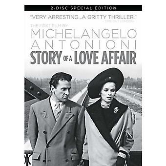 Historien om en kärleksaffär [DVD] USA import