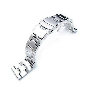 Strapcode watch bracelet 22mm super oyster watch band solid links straight lug