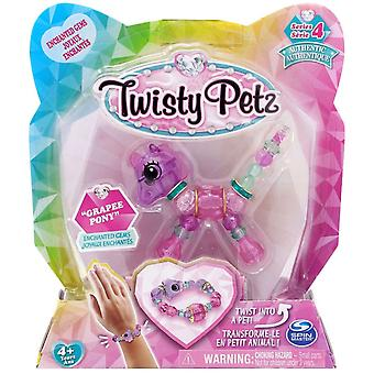 Twisty Petz Single Pack Série 4 - Grapee Pony