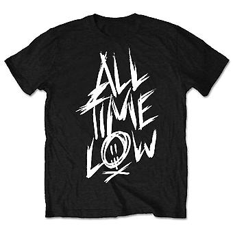 All Time Low Scratch Officielle Tee T-Shirt Herre Unisex