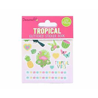 Dovecraft Tropical Sticker Book