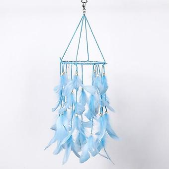 Bead Dream Catcher - Feathers Tassels Key Ring Buckle Dream Catcher