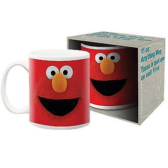 Sesame Street Elmo Big Face 11 Once Mug