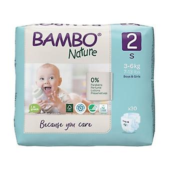 T2 diapers (3-6 Kg) ECO 30 units