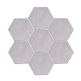 YANGFAN Home Decorative 3D Hexagonal Acrylic MirrorWall Stickers