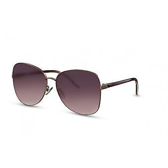 Sonnenbrille Damen    Schmetterling Kat.3 silber/rosa (CWI1551)