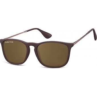 Sunglasses Unisex polarized brown (MP34E)