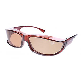 Sunglasses Unisex Transfer Brown with Brown Lens