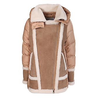 Violanti Via745634561 Women's Brown Leather Coat