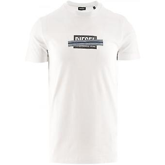 Diesel White T Diegos X40 T Shirt