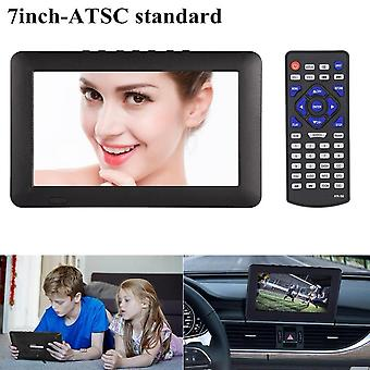 7 Inch Tft-led Tv 110v-240v Atsc 16:9 Digital Television Tv Support Tf Porturi Usb 1080p Hd