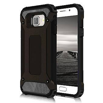 Shell for Samsung A710 Armor Black Protection Case