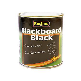 Rustins Quick Dry Blackboard Black 500ml RUSQDBB500