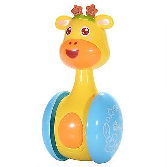 Tumbler Doll Roly-poly Baby Toys, Cute Rattles Ring Bell Nouveau-nés 3-12 Mois
