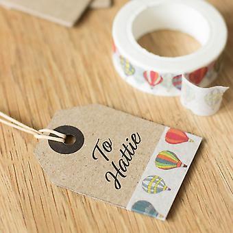 Hot Air Balloon Washi Paper Craft Decorative Tape x 10m